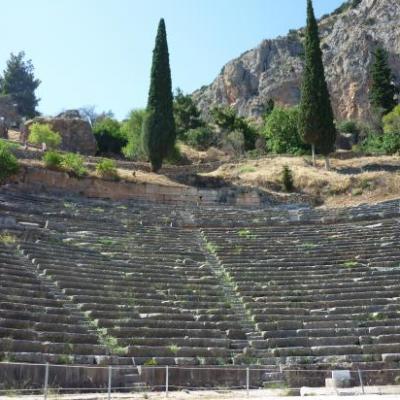 Le théâtre d'Epidaure- Argolides-Grèce
