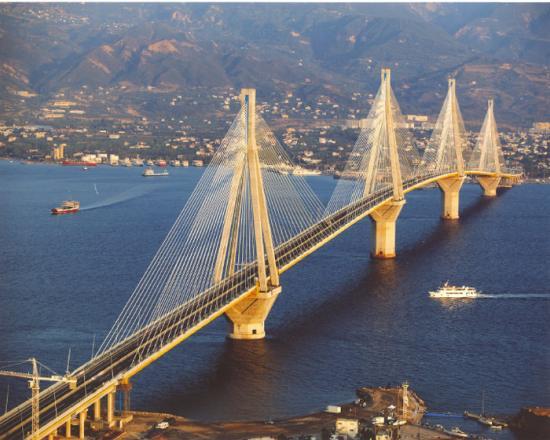 Pont du golfe de Corinthe (Rio/Antirio) Grèce