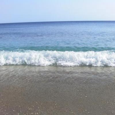 La mer... aux eaux claires et au sable doré