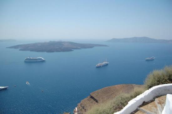 Des panoramas... à couper le souffle... Santorin-Cyclades-Grèce