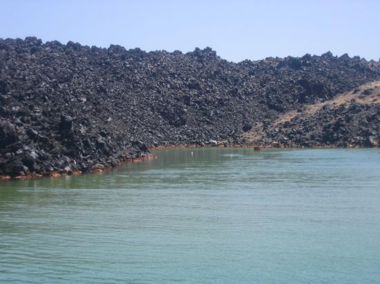 Santorin-volcan