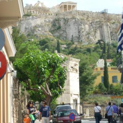 Vestiges... l'Acropole... Athènes