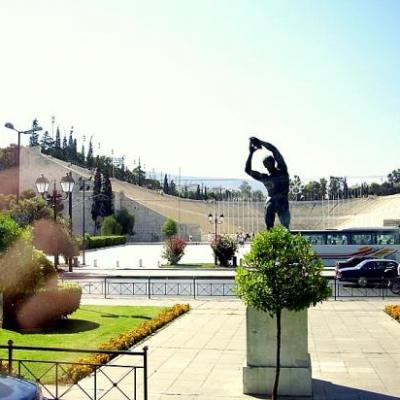 Stade Kallimarmaro-Athènes-Grèce