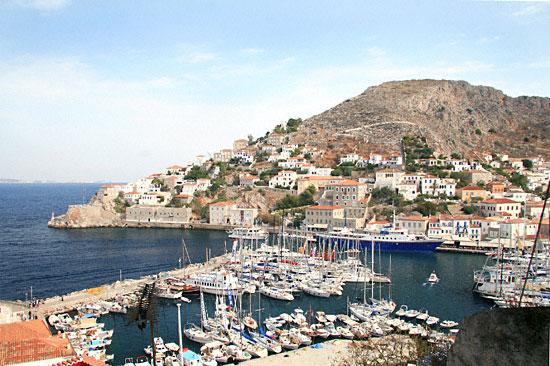 Port d'Hydra-Golfe Saronique-Grèce