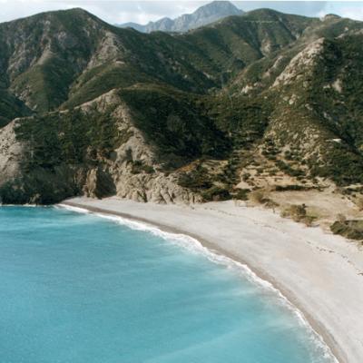 Plage sur l'île de Karpathos