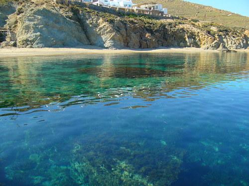 La mer... Des eaux transparantes et claires...