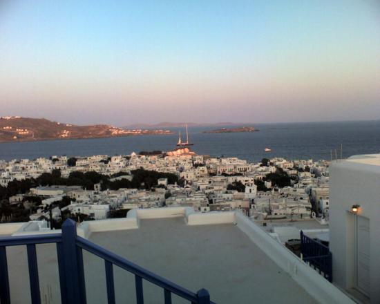 Mykonos - vue