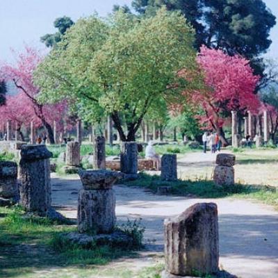 Olympie au printemps-Elia-Grèce