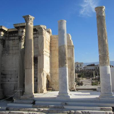 Bibliothèque d'Adrien-Athènes-Grèce