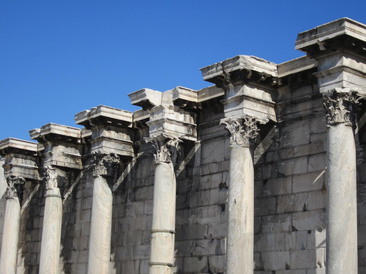Bibliothèque d'Hadrien-IMG_1305-© copyright Grèce Vacances