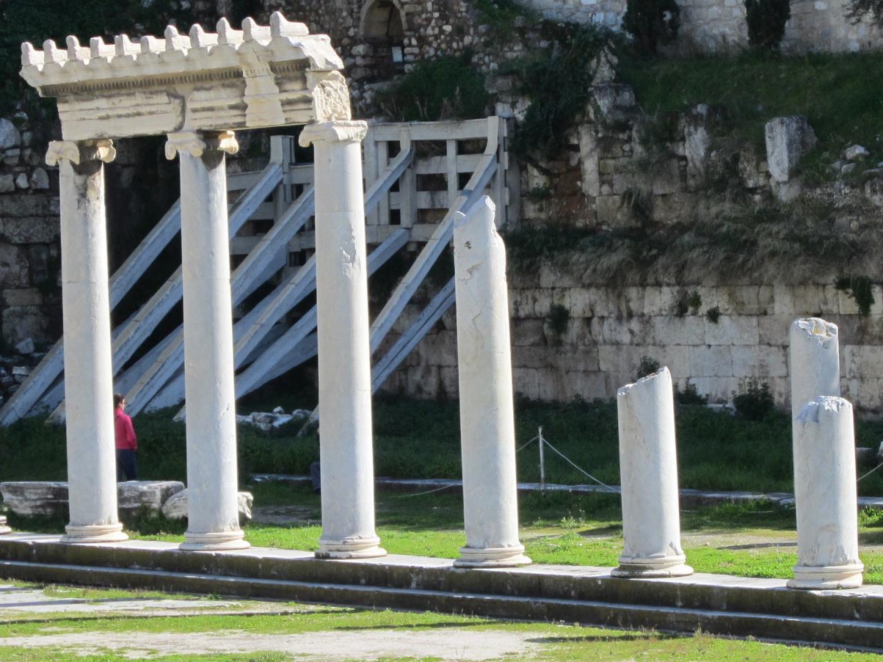 Agora Romaine-IMG_1319-© copyright Grèce Vacances