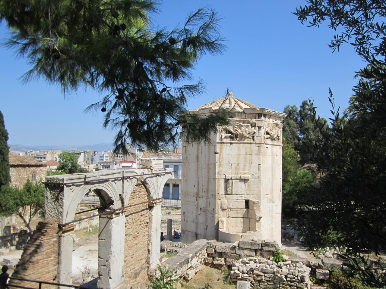 Agora & tour des vents-IMG_4481-© copyright Grèce Vacances