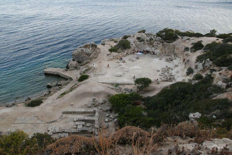 Loutraki - site Heraion