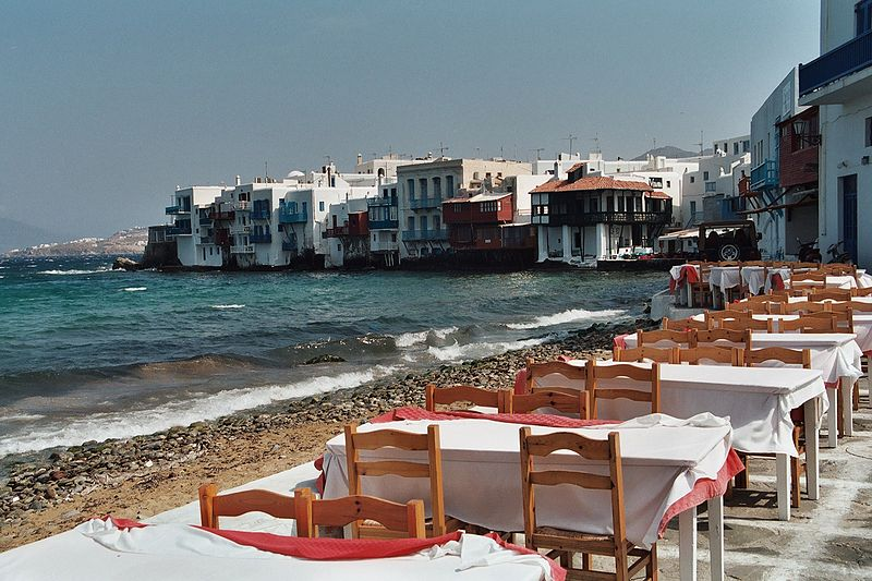 L'ile de Mykonos
