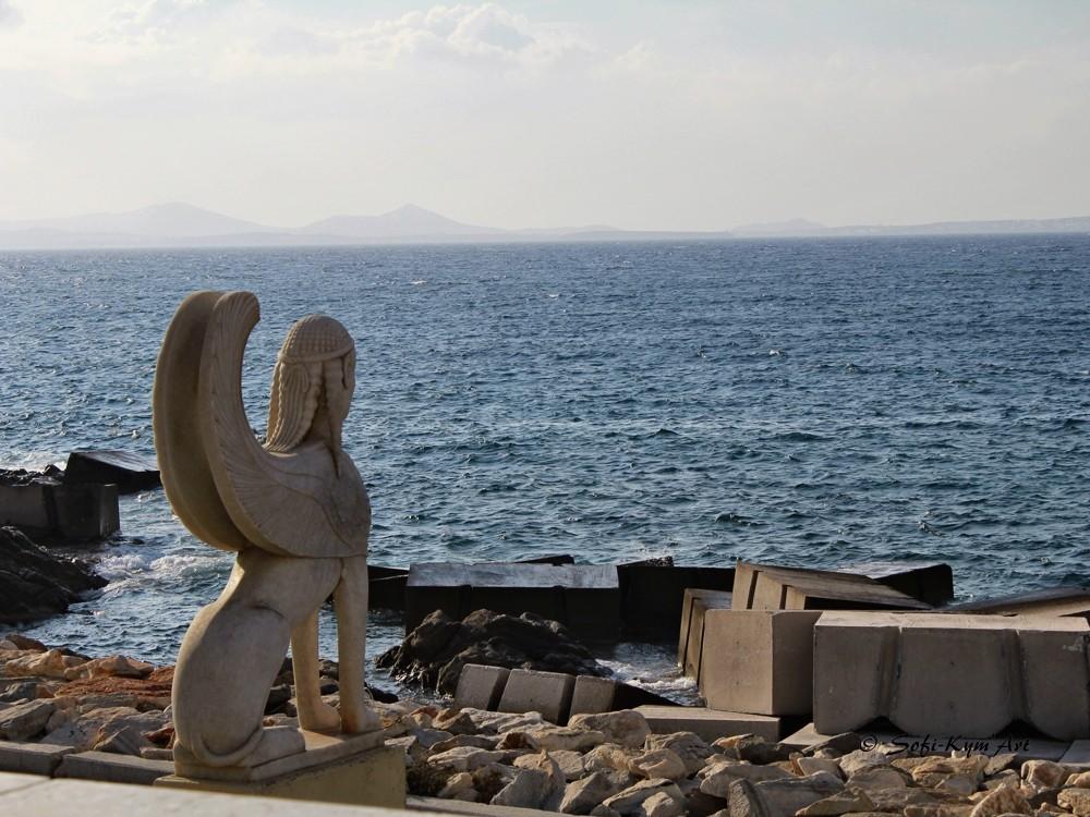 Naxos img 1247 le sphinx de naxiens
