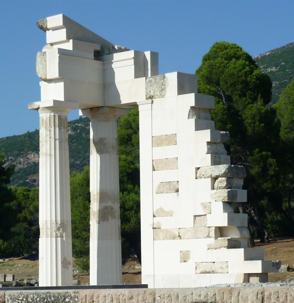 Site d'Epidaure-Argolie-Grèce