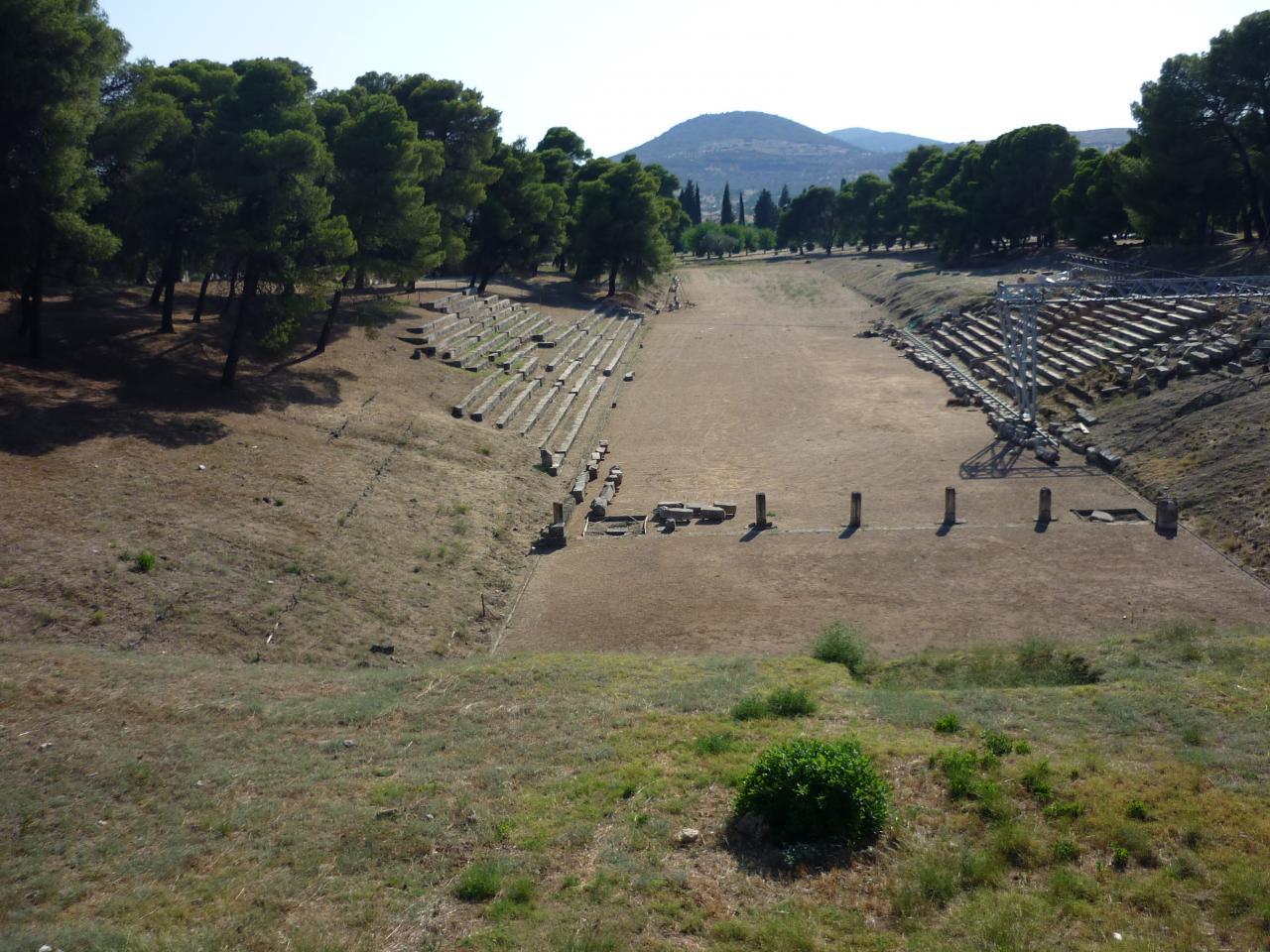 P1010941 -le stade au site d'Epidaure