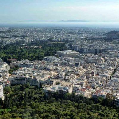 Panorama Athènes-P1040522