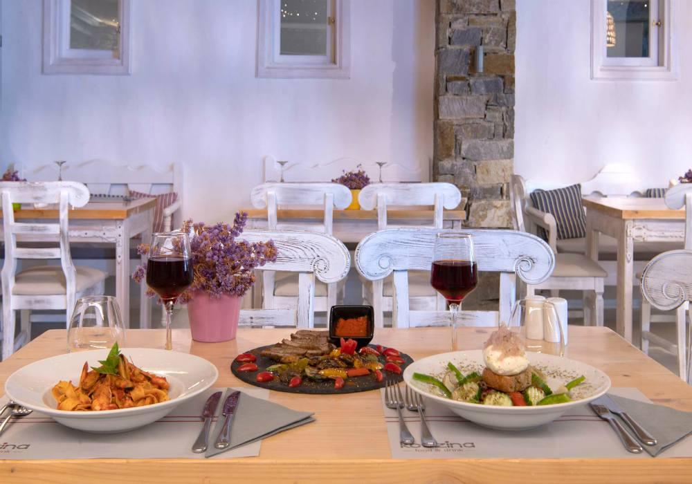Paros - PAZ 16-Restaurant