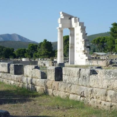 Peloponnese-Theatre d'Epidaure 69-sk