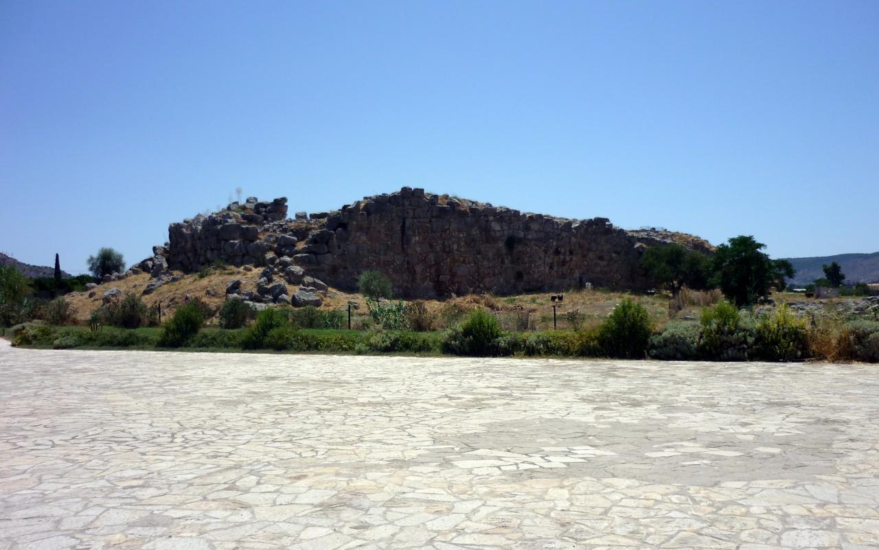 Tirynthe - le site  - Argolie