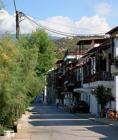 Village d'Afisos région du Pélion
