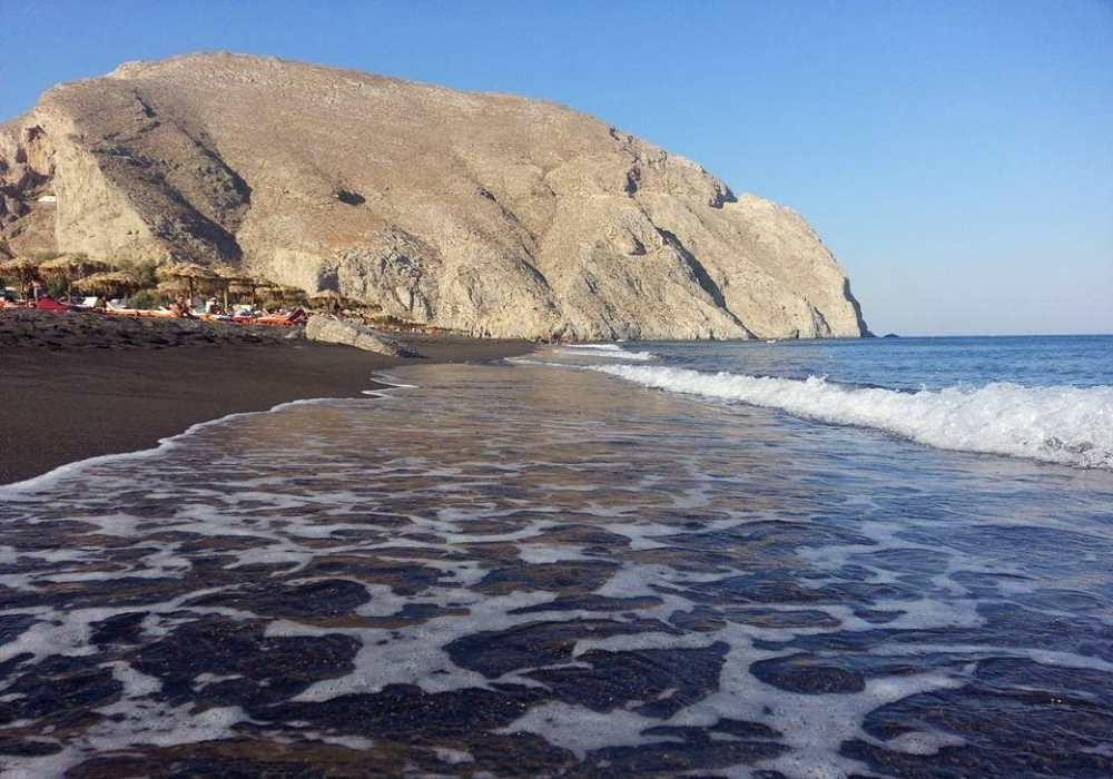 Santorin kam 12 plage noire