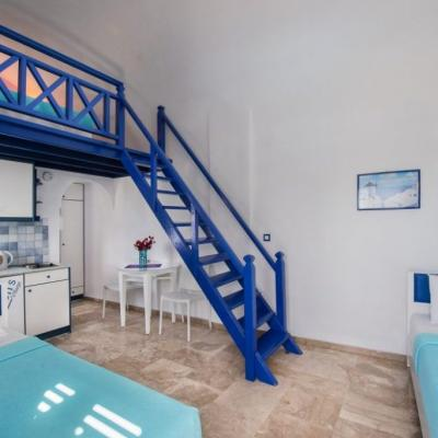 Santorin - SPA 07- maisonette 2 niveau 4 p.