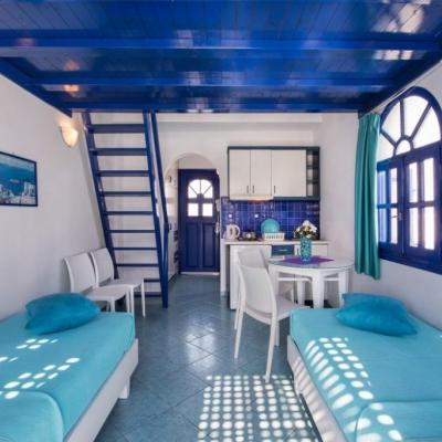 Santorin - SPA 09- maisonette 2 niveau 4 p.