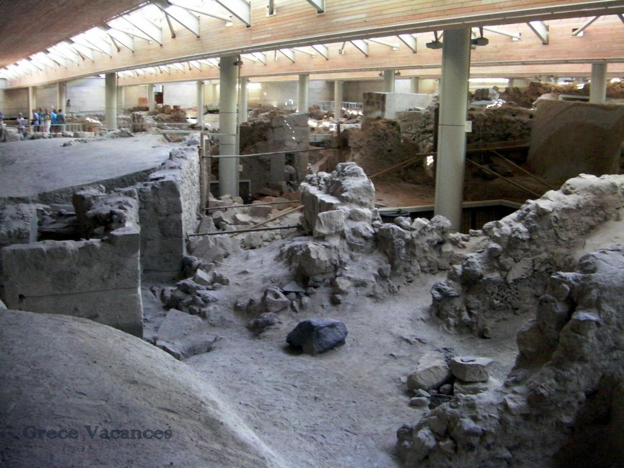 SANY0063-GV Santorin site Akrotiri---