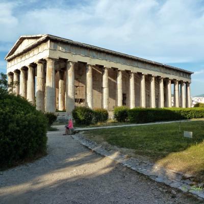 Temple de Héphaistos-P1040535