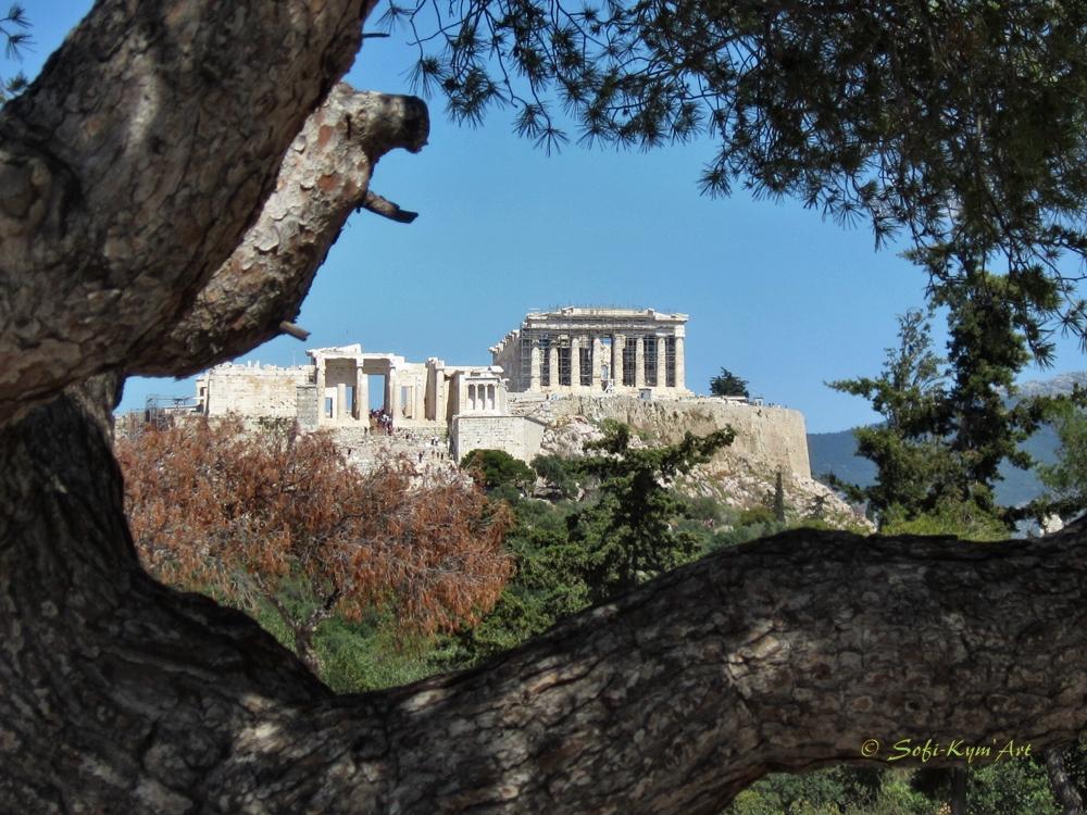 Vue de l'Acropole depuis le Pnyx