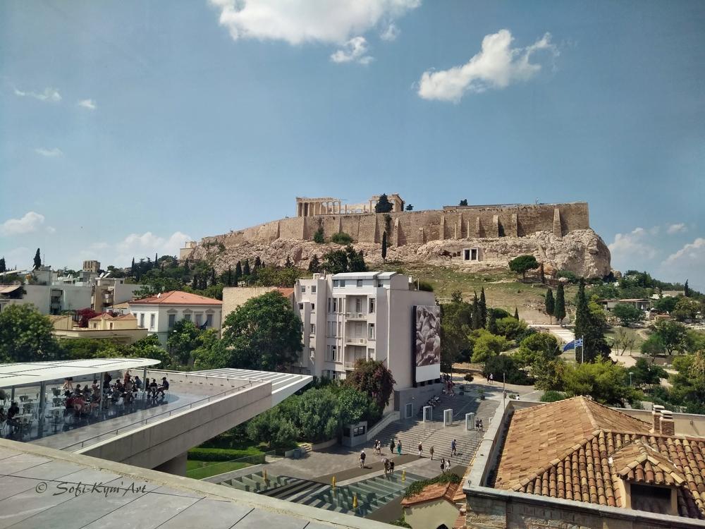 Vue sites Acropole