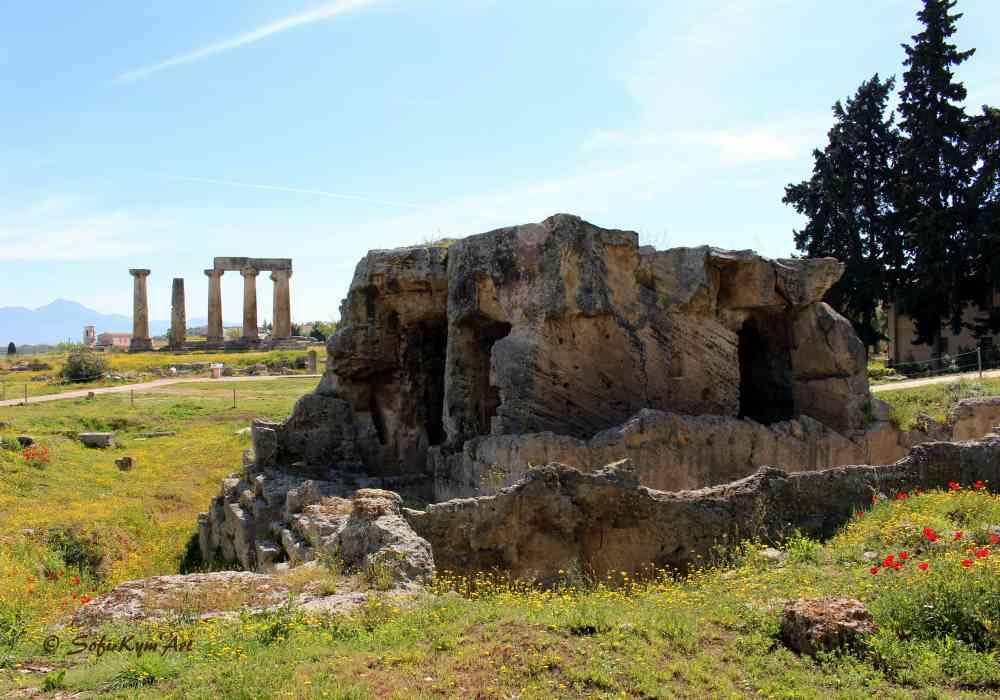 Corinthe site archéologique