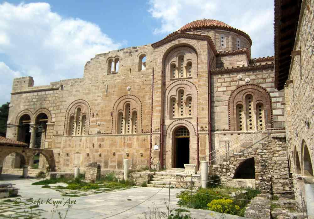 Monastère de Daphni - Attique - Grèce