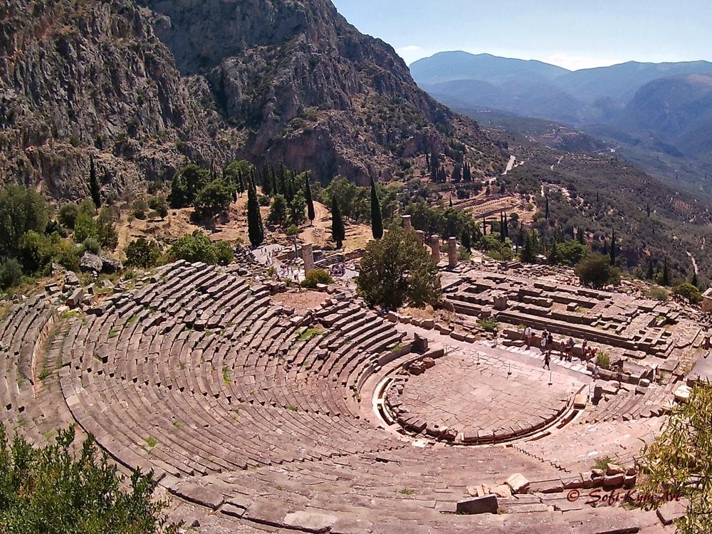 Delphes - site archéologique
