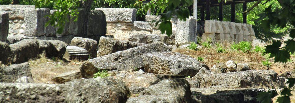 Image de vestiges sur le site de Dion en Macédoine Centrale - img-8373