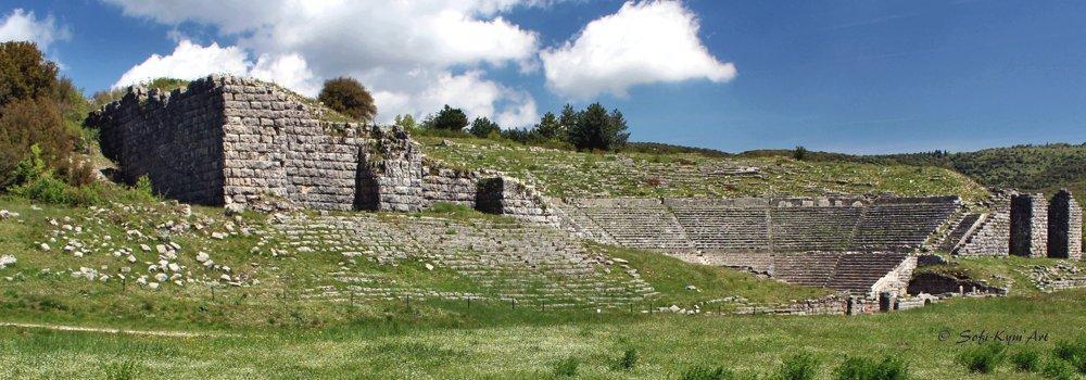 Théâtre sur le site de Dodone en Épire-img-3848