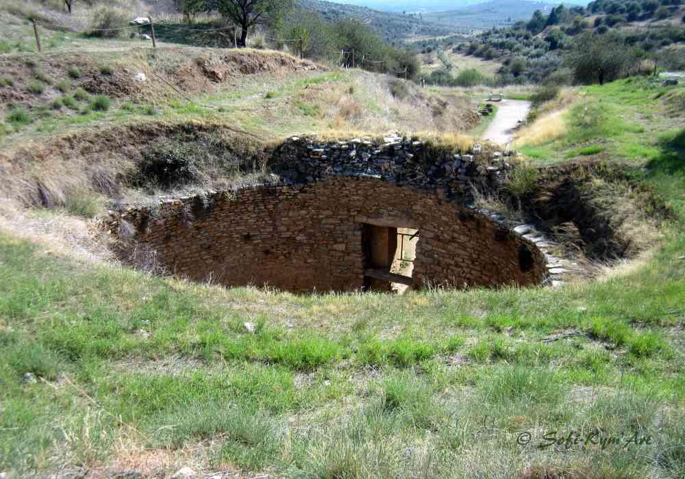 Mycènes - site archéologique