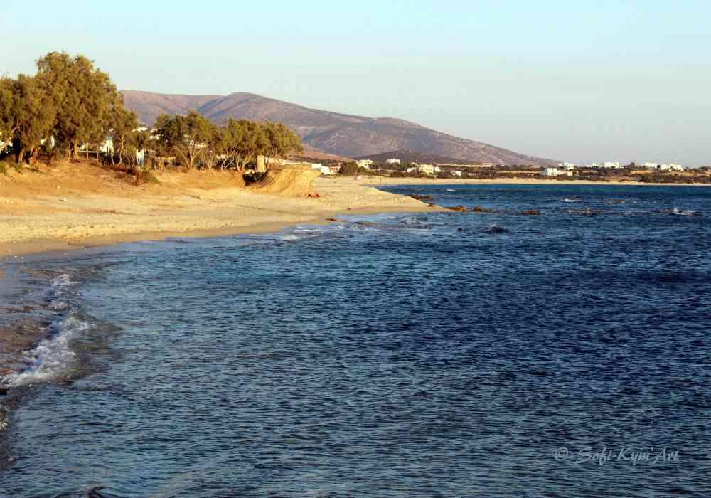 Plage Kastraki - Naxos