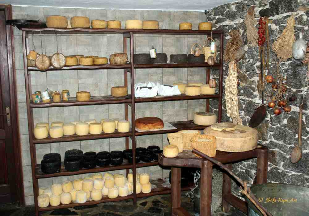Fromages traditionnels de Naxos