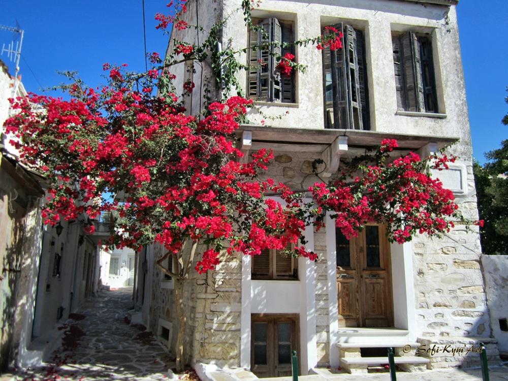 Naxos-village Halki
