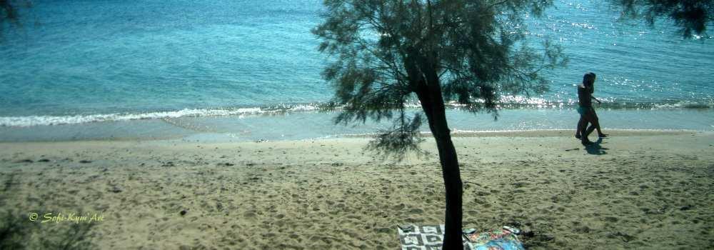 Naxos plage Agia Anna
