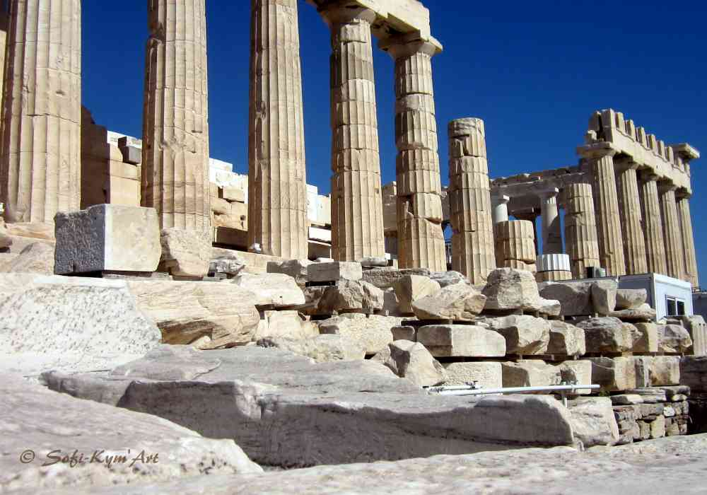 Parthénon Acropole