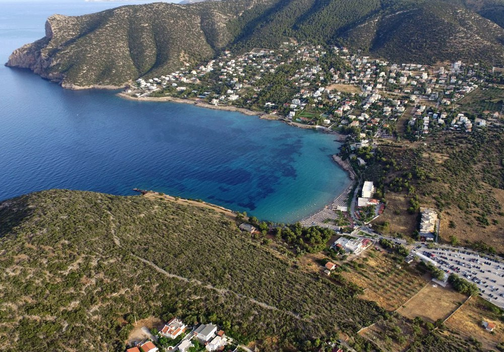 Des coins de nature sauvage région de Porto Rafti - Attique - Grèce