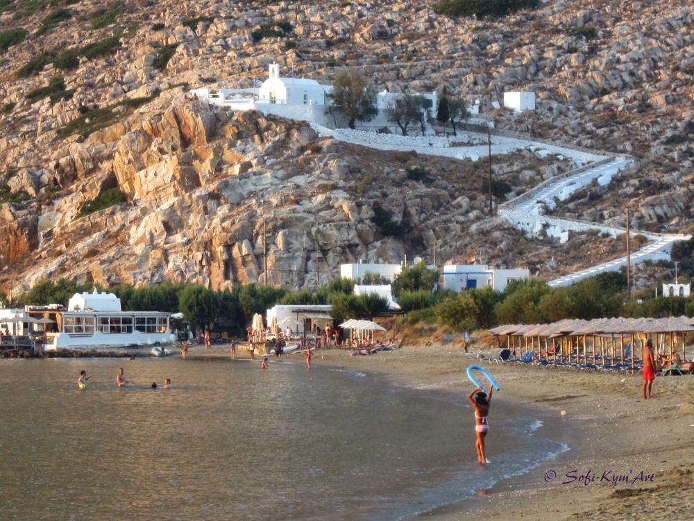 Sifnos-Eglise Agia Marina