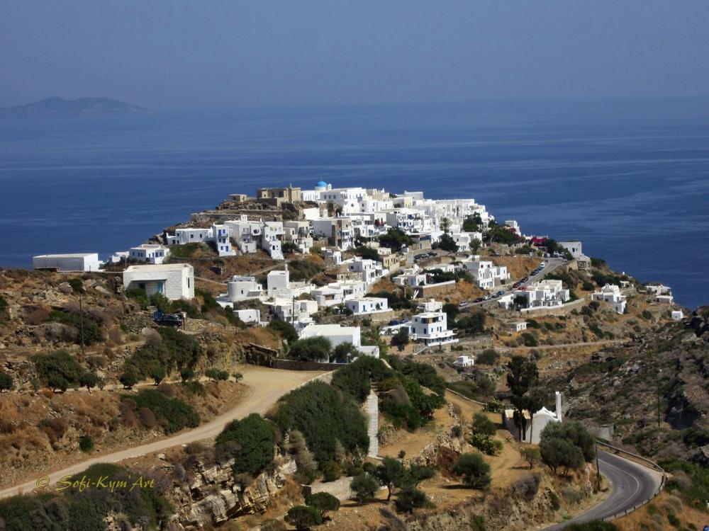 Sifnos-village de Kastro