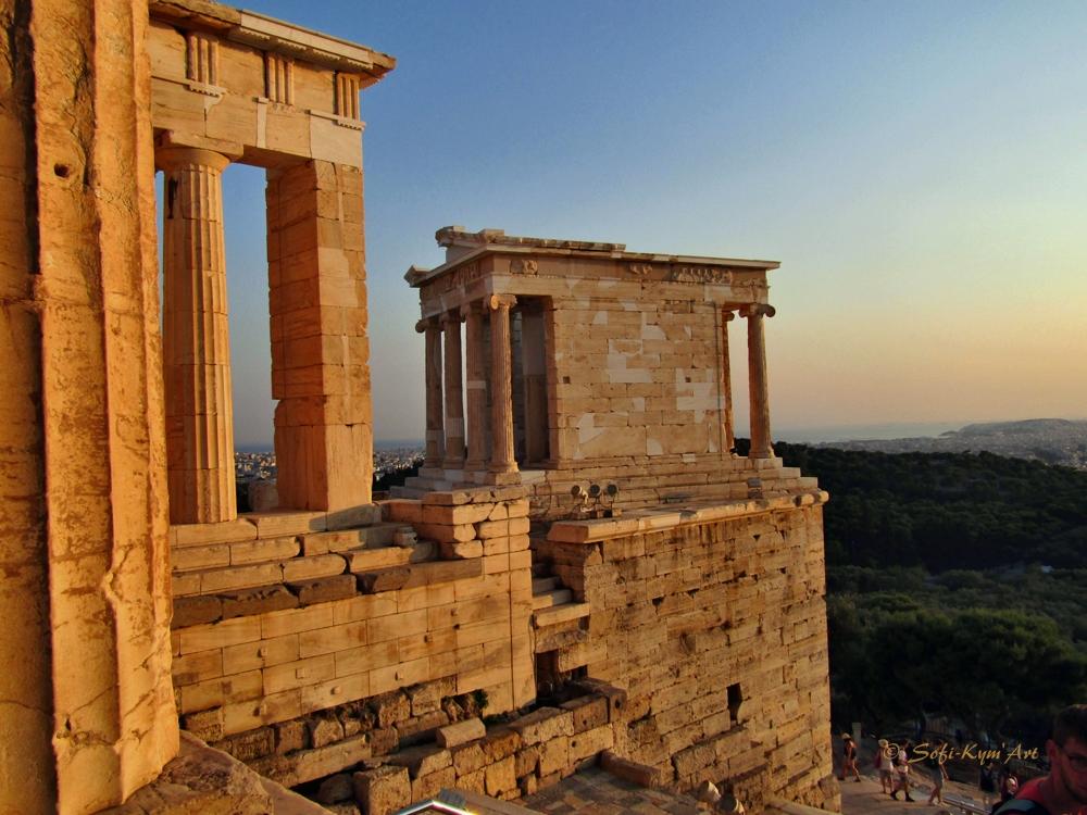 Temple de Niké Athènes